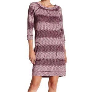 Max Studio Weekend Comfy Striped Dress